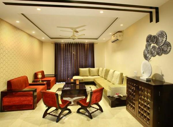 The interior design of Park View Spa Apartment