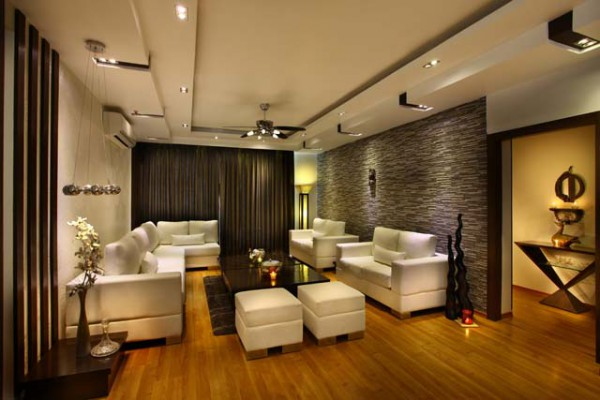 Interior design of Vatika City Apartment