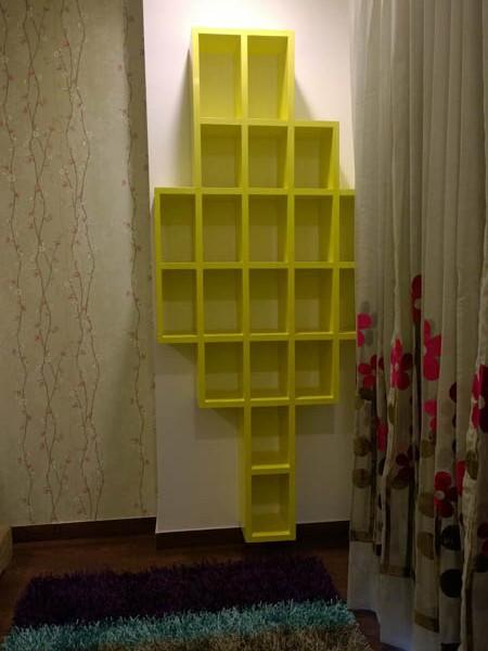 Book Shelves interior