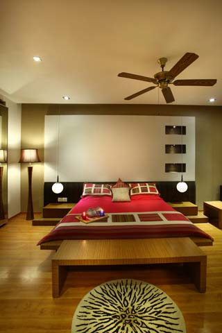 Interior design of Vatika City apartment 6