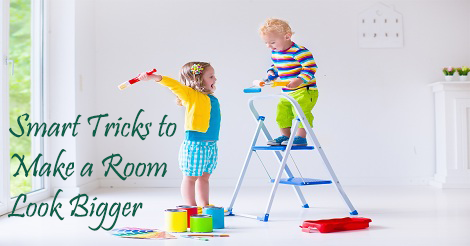 Smart Tricks to Make a Room Look Bigger