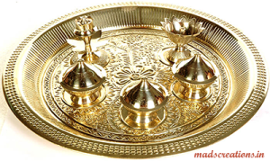 brass-thali