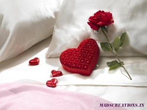 floral pillows love