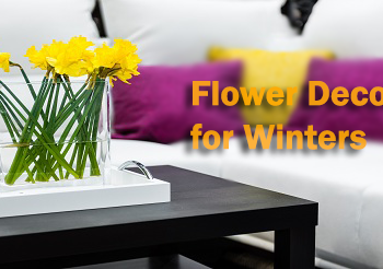 Flower Decor for Winters