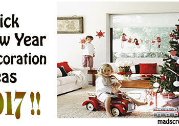 Quick New Year Decoration Ideas