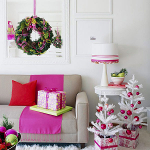 living-room-with-crafts-and-christmas-decor
