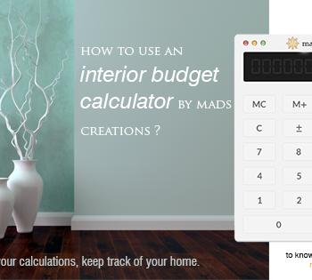 interior budget calculator