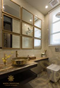 Vipul Tatvam Villa bathroom interior