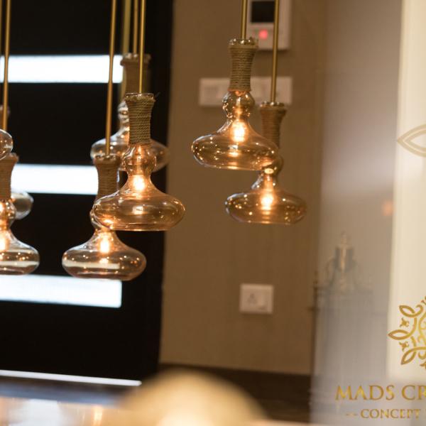 Vipul Tatvam Villa light interior