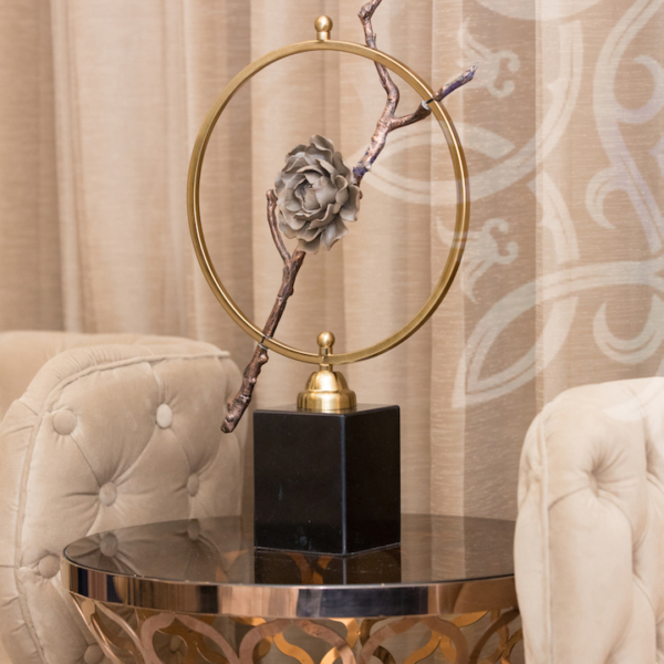 Vipul Tatvam Villa interior living room accessories