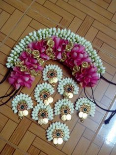 flower jewelry for Festival decors