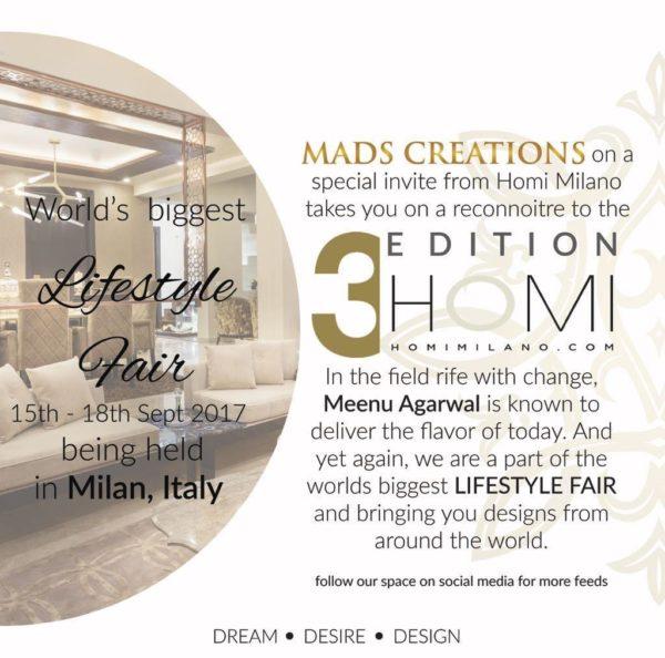 Homi Milano biggest lifestyle fair