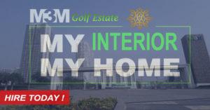 M3M Golf Estate interior Ideas