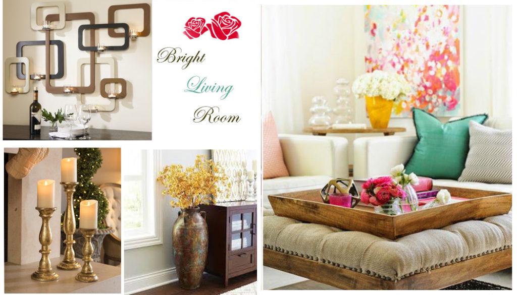 living room decoration in Holi interior decoration ideas