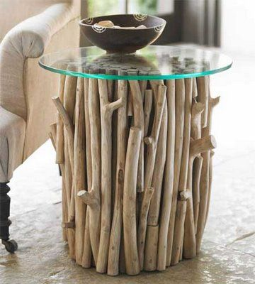 Log Coffee Tables nature inspired