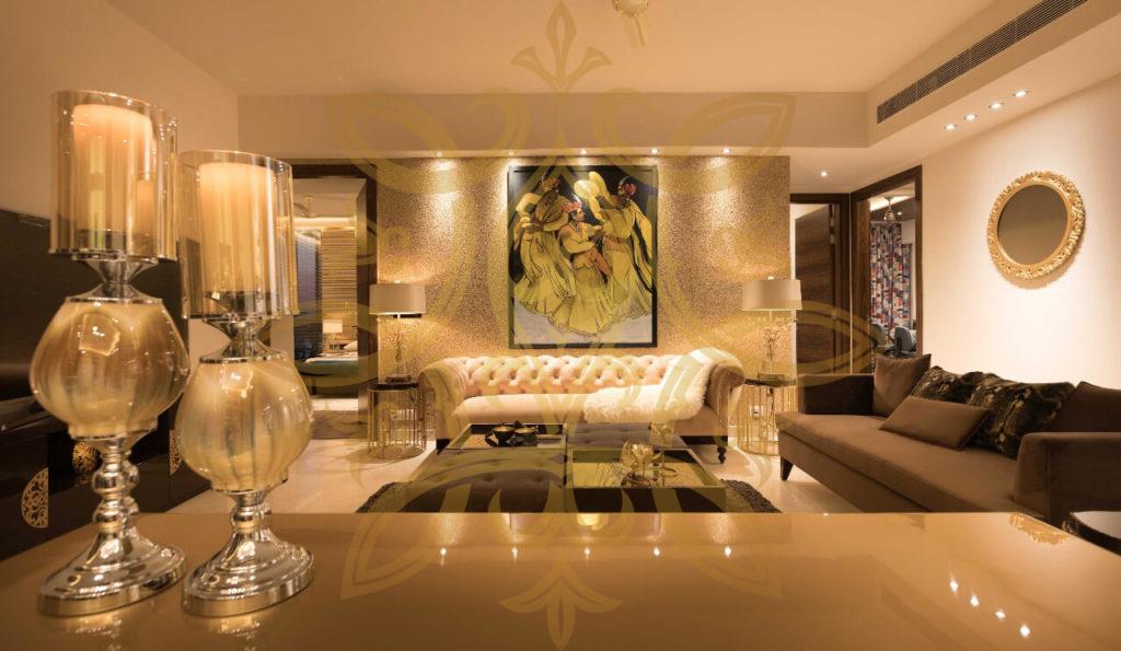 M3M Golf Estate Gurgaon Interior Project_furniture luxury