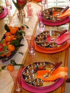 a festive tablescapes
