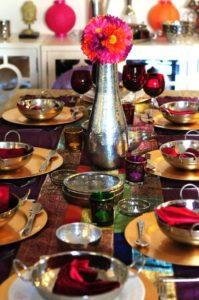 festive tablescapes for diwali decor
