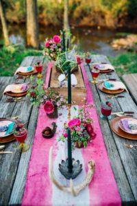 outdoor tablescapes decor ideas for festivals