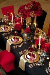beautiful tablescape creates ambience and inspires conversation.