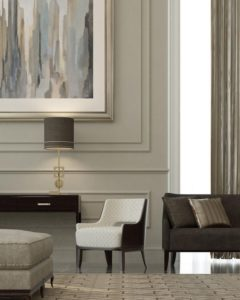 Modern living room Furniture and Wall art ideas by MADS Creations