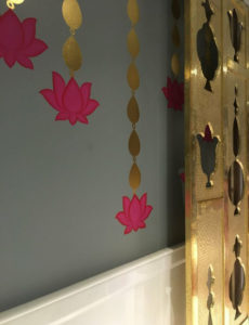 wall decor ideas for diwali using sculpture