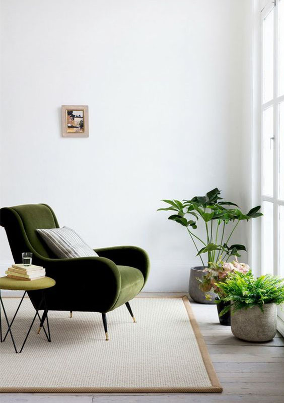 Green Chair design