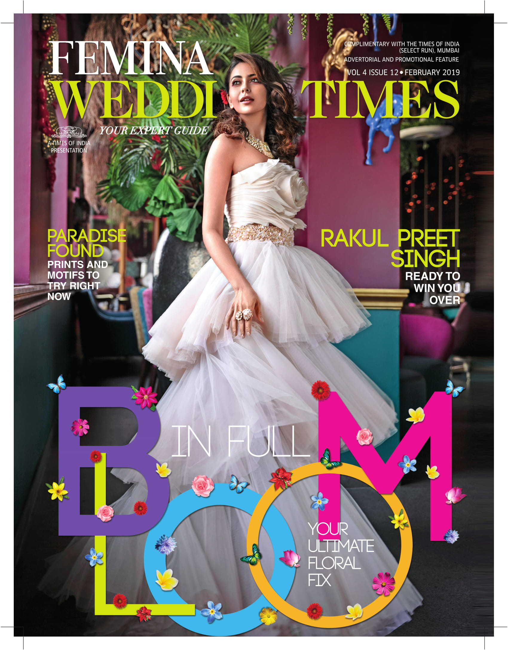 Femina Wedding Times - Cover Page