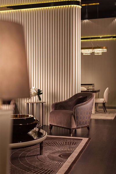 luxury chair for DLF Camellias