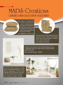 Interiors & Decor - MADS Creations - Feb Mar 2019