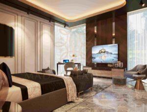 Spacious interiors