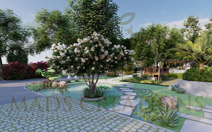 farmhouse style landscaping