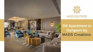Dlf Apartmnet in Gurgaon by MADS Creations