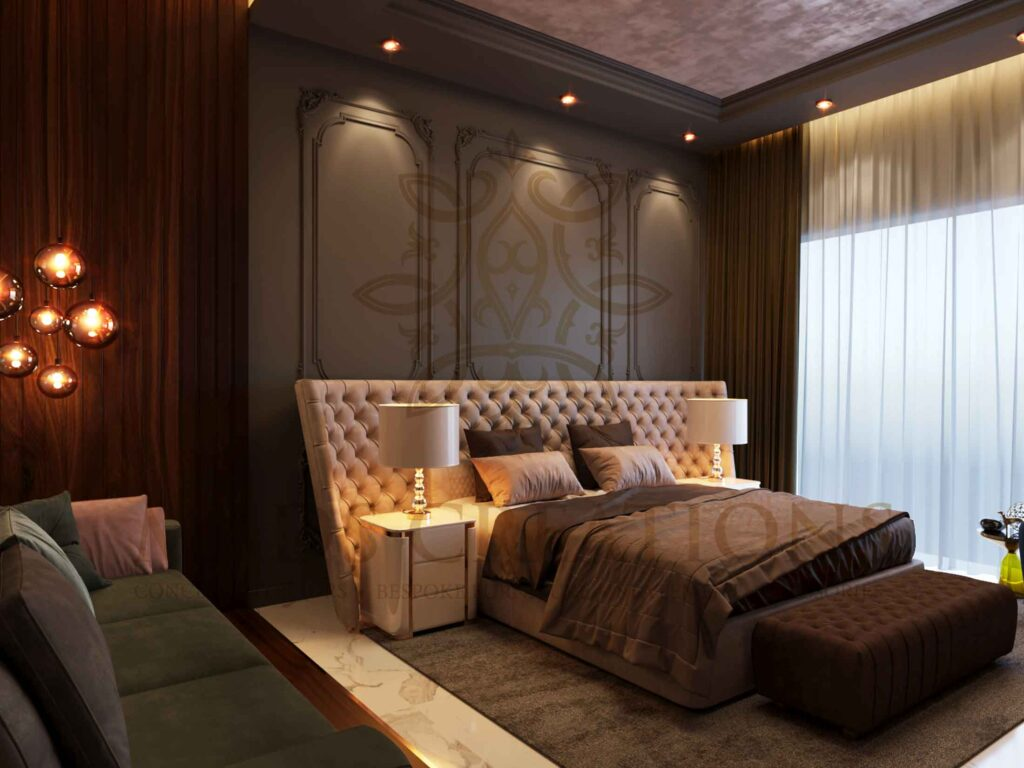 Rich furnishings